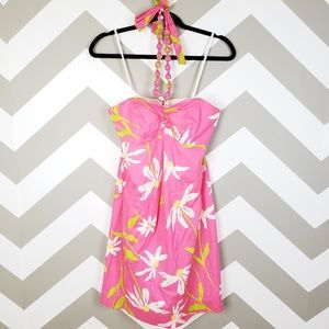 Lilly Pulitzer Pink Twirlers Dress 4 NEW $198